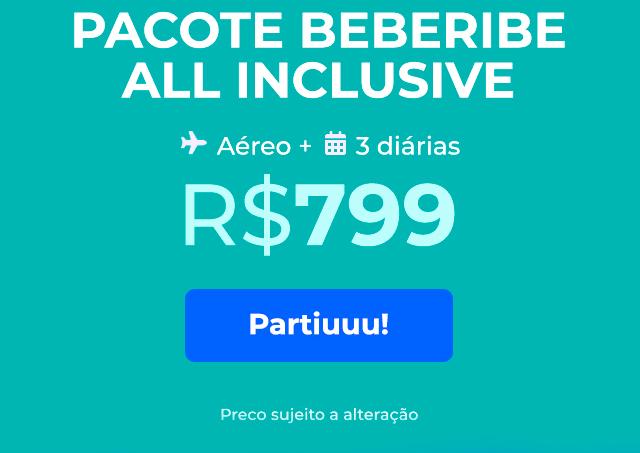 Pacote Beberibe All Inclusive - R$799