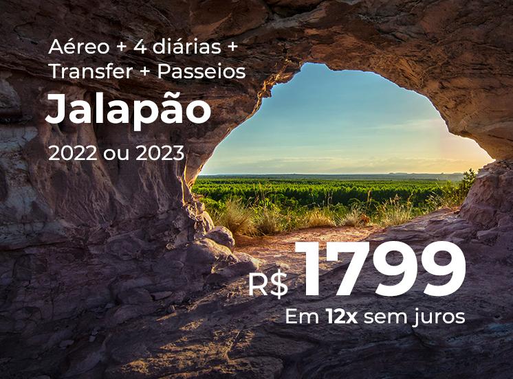 Pacote Jalapão + Transfer + Passeios - R$1799
