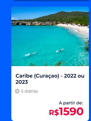 Pacote Curaçao (Caribe) - R$1590