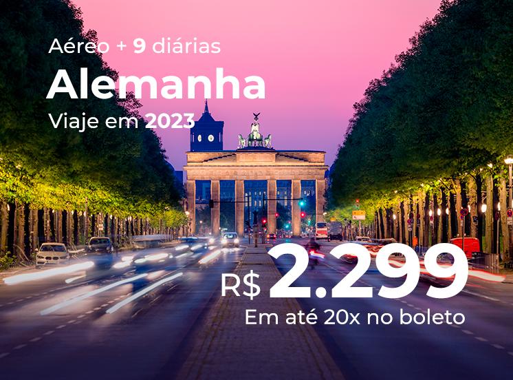 Alemanha (Frankfurt + Berlim + Munique) - 2023
