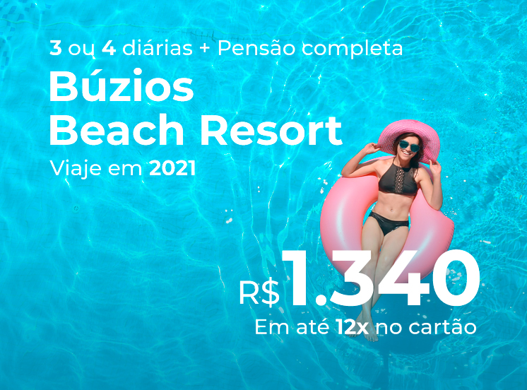 Búzios Beach Resort - Mais Férias 2021 + Apresentação